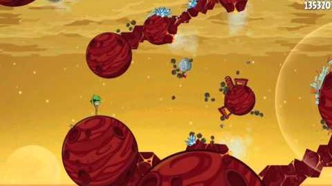Angry Birds Space Red Planet 5-28 Walkthrough 3-Star