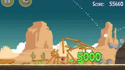 Angry Birds 12-14 Ham 'em High 3 star Walkthrough