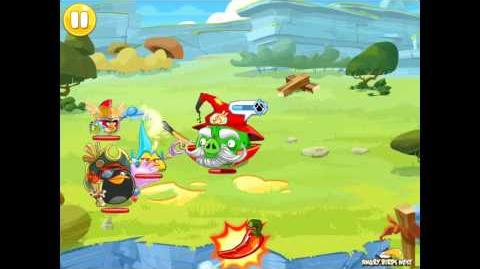 Angry Birds Epic Magic Shield Level 1 Walkthrough