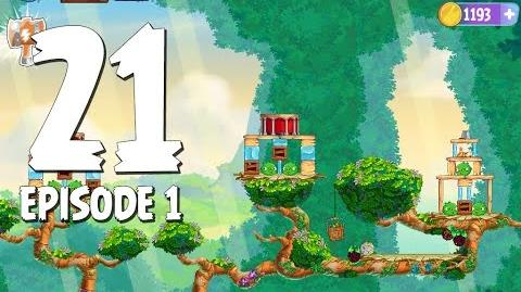 Angry Birds Stella Level 21 Walkthrough Branch Out Episode 1