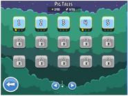 Экран уровней Френдс (Свинные сказки)