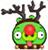 Angry Birds Seasons Reindeer Pig