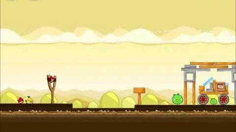 Official Angry Birds Walkthrough Mighty Hoax 5-3