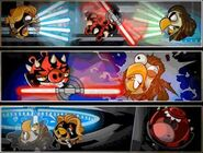 Battle of Naboo Pork Side Comic 3