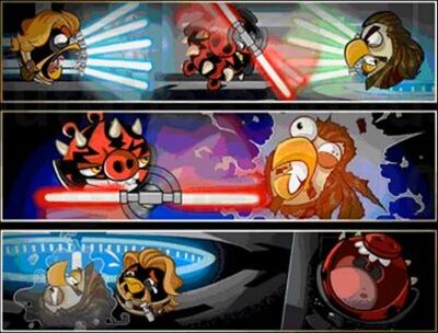 Battle of Naboo Pork Side Comic 3