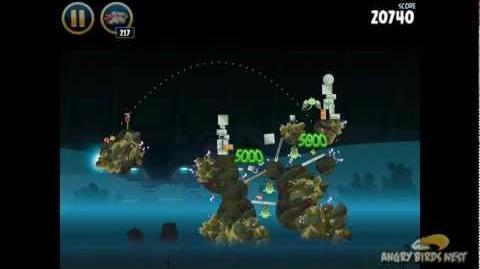Hoth 3-34 (Angry Birds Star Wars)/Video Walkthrough