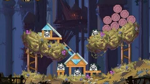 Moon of Endor 5-2 (Angry Birds Star Wars)/Video Walkthrough