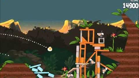 Official Angry Birds Rio Walkthrough Jungle Escape 4-2