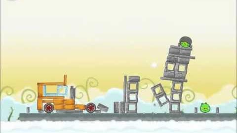 Official Angry Birds Walkthrough Danger Above 8-7