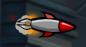 .Ракета при запуске