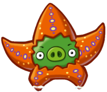 Angry Birds Fight! - Monster Pigs - Seastar Pig