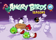 Angry Birds Seasons WinterWonderham title