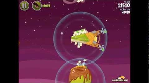 Angry Birds Space Utopia 4-15 Walkthrough 3-Star