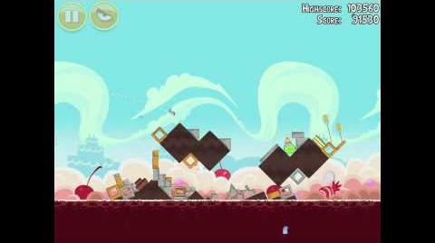 Angry Birds Birdday Party 18-12 Walkthrough 3 Star