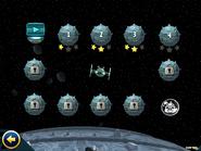 Zvezda-Smerti- меню уровней