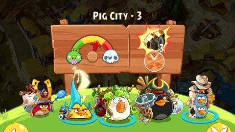 Angry Birds Epic Pig City Level 3 Walkthrough