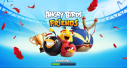 Angry birds friends artwork