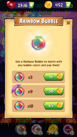 ABPop Booster Rainbow Bubble