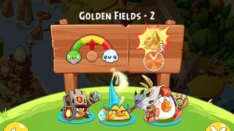 Angry Birds Epic Golden Fields Level 2 Walkthrough