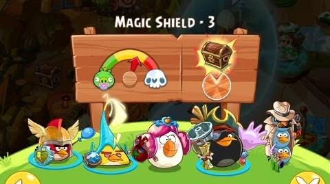 Angry Birds Epic Magic Shield Level 3 Walkthrough