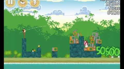 Angry Birds 21-12 Bad Piggies 3 Star Walkthrough (Angry Birds Classic 21-12)