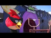New Angry Birds Space Encounter attraction at Kennedy Space Center Visitor Complex