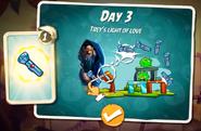 Trey's light of love