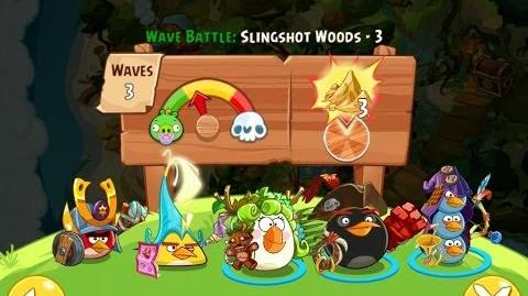 Angry Birds Epic Slingshot Woods Level 3 Walkthrough