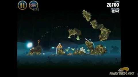 Hoth 3-35 (Angry Birds Star Wars)/Video Walkthrough