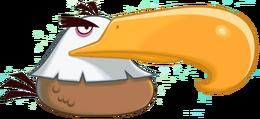 Могучий Орёл в Toons