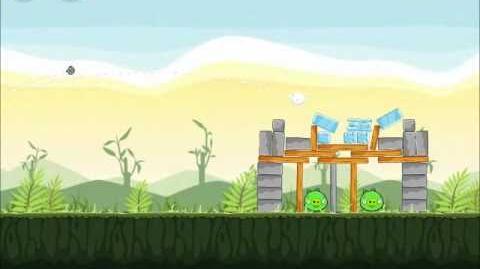 Official Angry Birds Walkthrough Poached Eggs 2-12