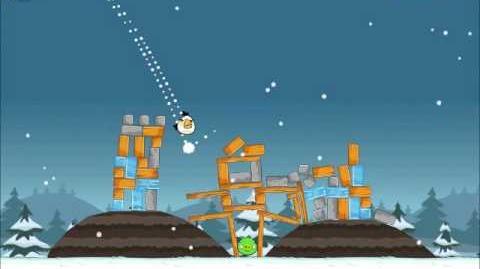 Official Angry Birds Seasons Walkthrough Season's Greedings 1-2