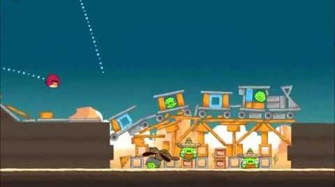 Official Angry Birds Walkthrough Ham 'Em High 12-15