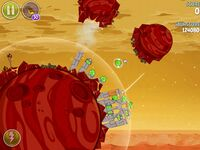 Red Planet 5-13 (Angry Birds Space)