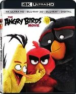 Angry Birds Movie 4K BD