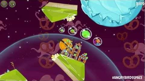 Angry Birds Space Orange Bird Returns