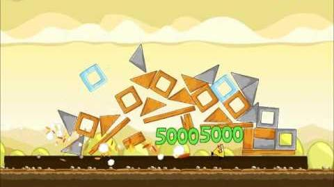 Official Angry Birds Walkthrough Mighty Hoax 5-14