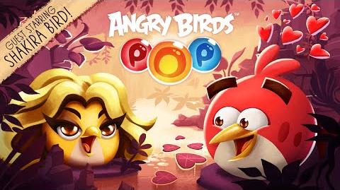 Shakira Bird joins the flock in Angry Birds POP!