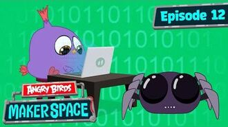 Angry Birds MakerSpace Will's Spider Bot Build - S1 Ep12