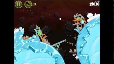 Angry Birds Space Danger Zone Level 25 Walkthrough 3 Star