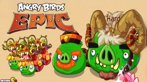 Angry Birds Epic - Year Of The Goat Event Gameplay!