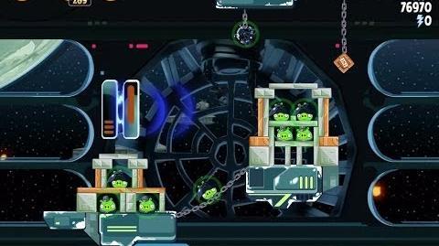 Death Star 2 6-16 (Angry Birds Star Wars)/Video Walkthrough