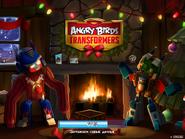 Angry Birds Transformers (новогодний экран загрузки)