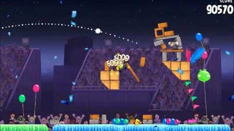 Official Angry Birds Rio Walkthrough Carnival Upheaval 8-10