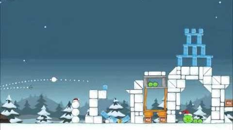 Official Angry Birds Seasons Walkthrough Season's Greedings 1-15