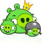Король, шлемак и свинья