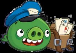 Свин-почтальон канон