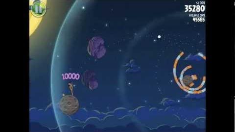 Angry Birds Space Pig Bang 1-28 Walkthrough 3-star