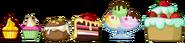 Ingame Bad Piggies Cakes