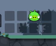 Свинья с венсушками на сетке